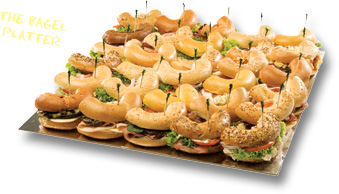 Wholly Bagels - Catering - Bagel Platter